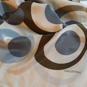 Vintage Halston Silk Scarf
